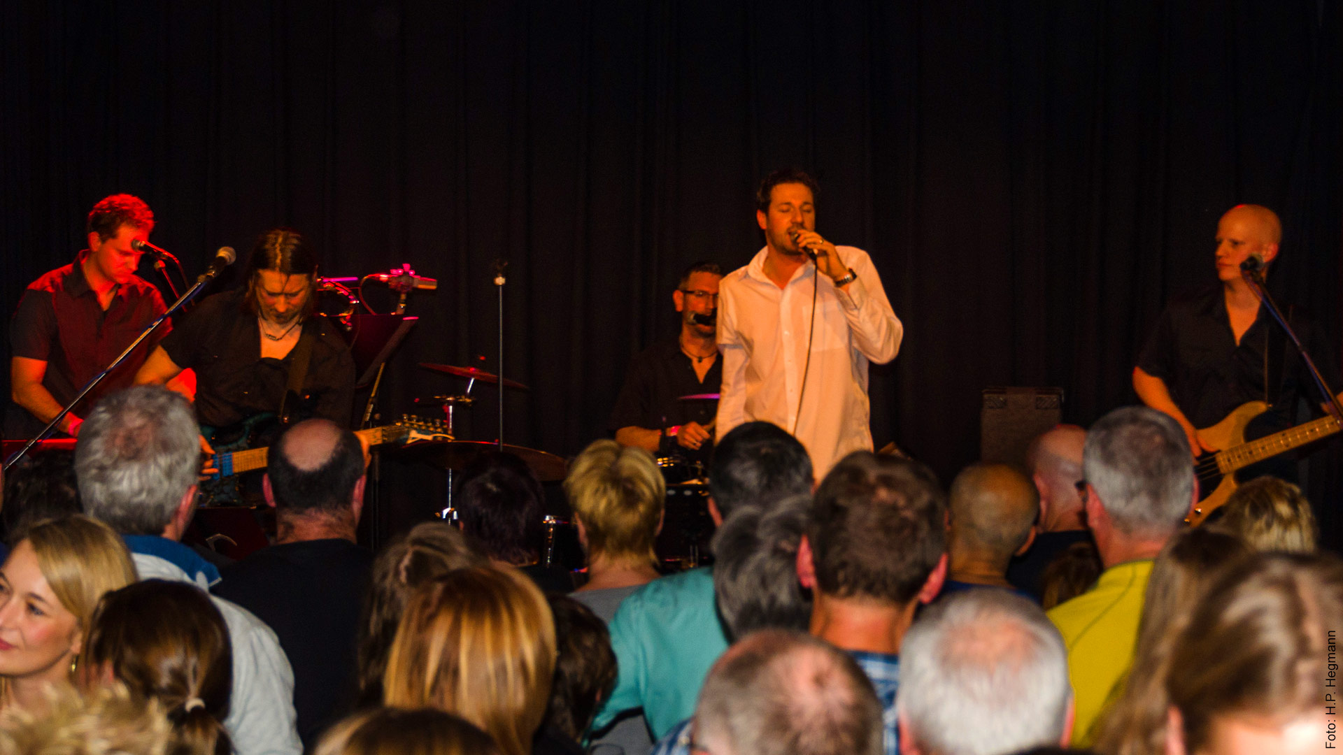 Ryder Dee Dyder auf der Bühne von Christgenau in Gaggenau 2015